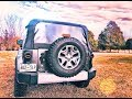 HOW to install Jeep Wrangler Round LED Tail Light Conversion (Jeep JK)