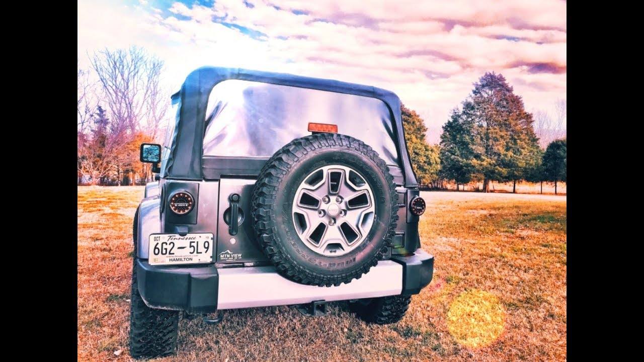 How To Install Jeep Wrangler Round Led Tail Light