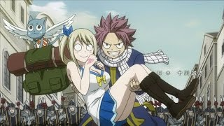 Natsu and lucy AMV - Angel with a shotgun - Fairy tail