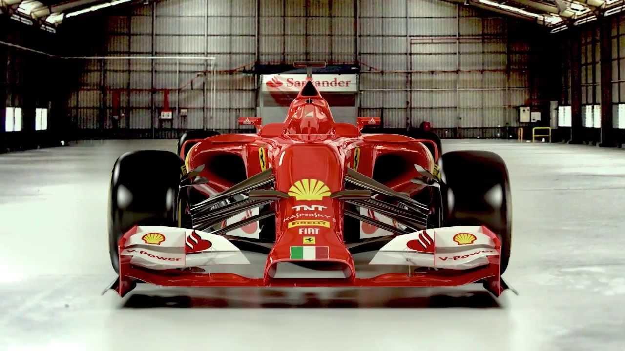 F1 Ferrari F14 T 3d Model Out Of Blender Youtube