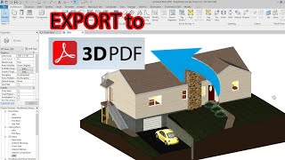 How to export any 3D model to 3D PDF - Free and Simple screenshot 3
