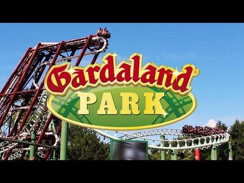 Gardaland (Italy) - Complete Tour 2014