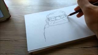 Carl Fredricksen - Up! - Quick Draw! #3