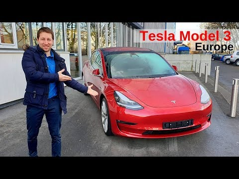 Tesla Model 3 Performance Dual Motor Review 2019 Europe