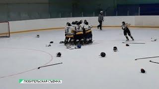 Хоккеисты клуба «Бийский лицей» вернулись победителями из Славгорода (Бийское телевидение)