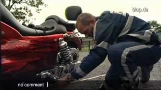 bluptv: Motorradkontrolle