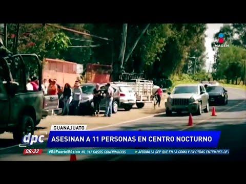 11 ejecutados en Jaral del Progreso, Guanajuato