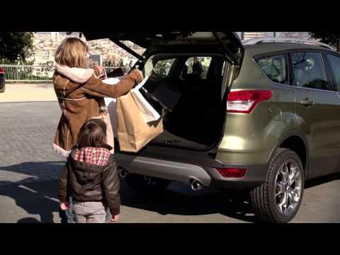 New Ford Kuga система безконтактного відмикання багажника