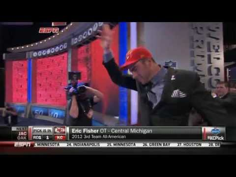 Eric Fisher Goes No. 1 in 2013 NFL Draft