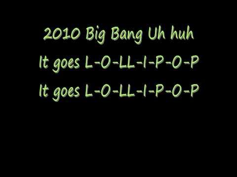 Big Bang- Lollipop 2 with lyrics