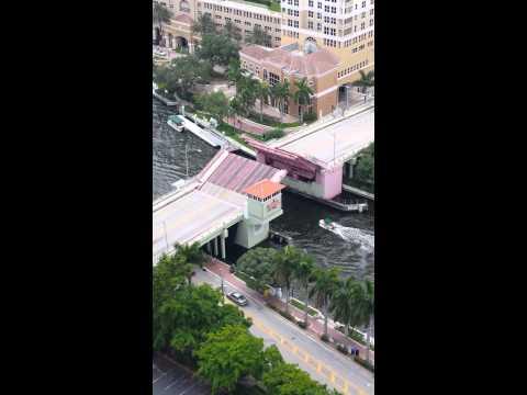 Draw Bridge in Fort Lauderdale