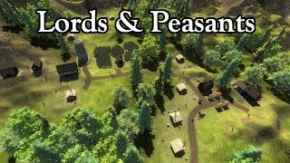 Lords & Peasants - Preview Trailer - Indie Medieval Historic RTS - Review