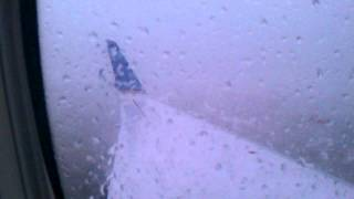 Hail Storm At Omaha Airport.