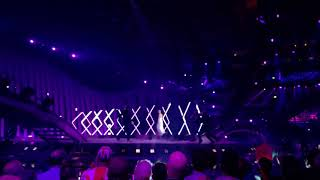 Eurovision man jumps on stage during performance - Surie - Storm
