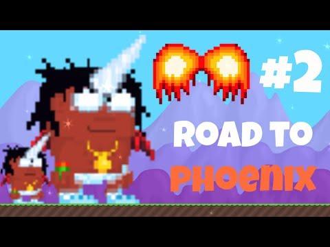 Growtopia   Road to Phoenix Wings #2 (REFILLING SSP SHOP)