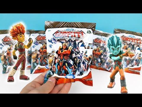GORMITI Сюрпризы в пакетиках ИГРУШКИ по мультику ГОРМИТИ 2019 Surprise toys unboxing