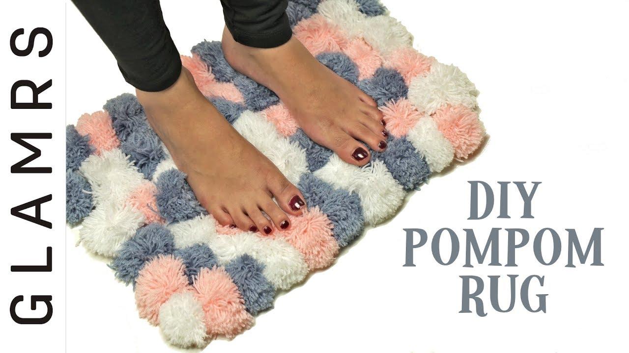 DIY Pom Pom Rug - Easy & Creative