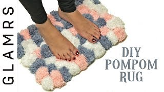 DIY Pom Pom Rug - Easy & Creative | Awesome DIY Home Decor Ideas