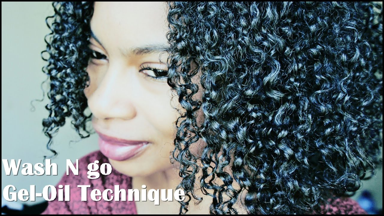 Wash N Go For Less Shrinkage Gel Oil Technique 4a 3c