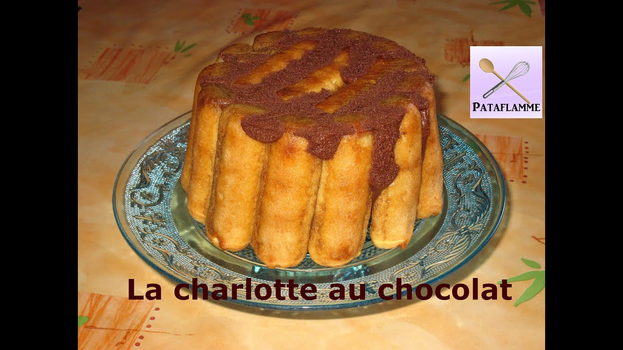 La charlotte au chocolat recette facile chocolate charlotte recipe youtube - Recette charlotte chocolat facile ...