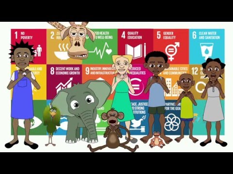 United Nations + Ubongo Kids | The Global Goals | Human Rights Day 2015