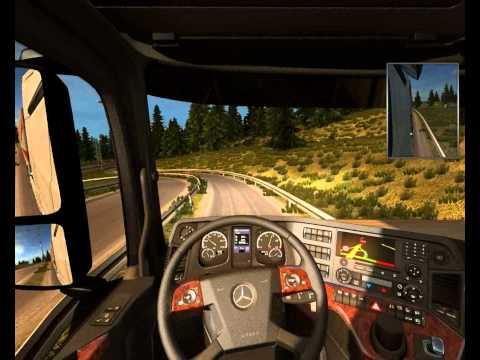 Euro Truck Simulator 2-Scandinavia Map- Mercedes Actros