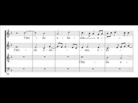 Palestrina - Missa brevis - Kyrie