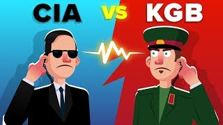 CIA vs KGB - Which Was Better During the Cold War?