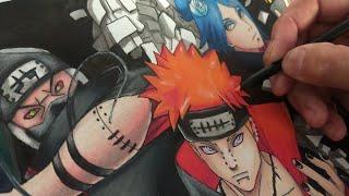 Gambar cover Drawing akaTsuki - desenhando akatsuki (Os ninjas mais procurados do mundo)