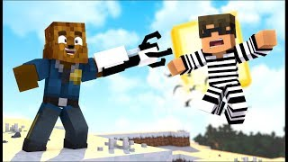*Gravity Guns Mod* Minecraft Modded Cops And Robbers W/ SkyDoesMinecraft - Minecraft Modded Minigame
