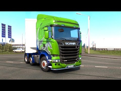 ETS 2 Beyond the Baltic Sea - Office Paper from Tartu - Estonia |
