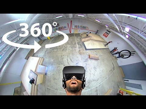 Typical Skate Session   360 Video