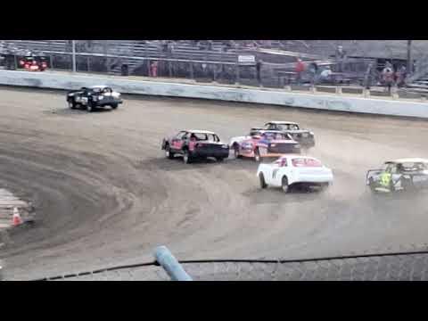 Stock car heat #1 RPM Speedway 5.25