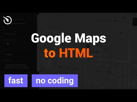 How To Add Google Maps For HTML Website In 2 Minutes (2020)