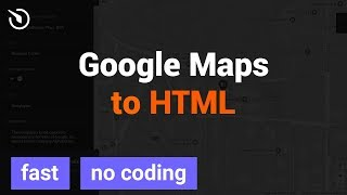 How to add Google Maps for HTML website in 2 minutes (2018) Mp3