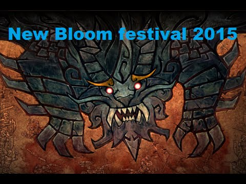видео: new bloom festival 2015 в dota 2 новый ивент - Праздник Новоцвета сражение с Годнем