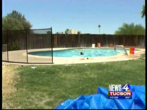 Tucson Family Safer with Their New Pool Fence