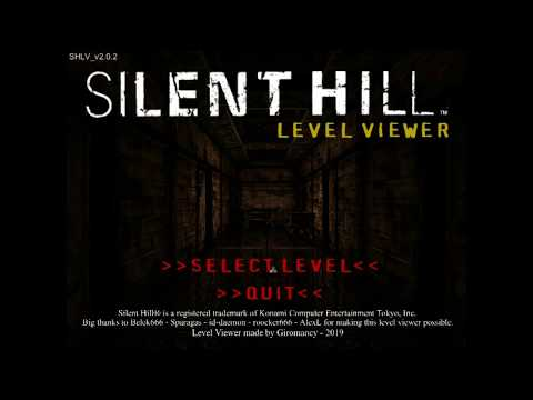 Silent Hill 1  Level Viewer 2.0.2 - [ Donwload Link ]
