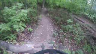 Dagmar POV Ride - Trail - Cattle Logs