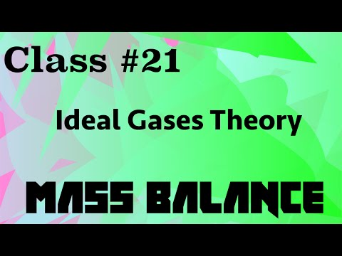Ideal Gases (Theory & Exercises) // Mass Balance Class 21