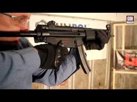 Shooting the Heckler & Koch MP5A5