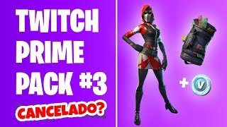 FORTNITE - TWITCH PRIME PACK #3 CANCELADO + STARTER PACK | BATTLE ROYALE
