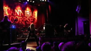 CANNIBAL CORPSE - Palác Akropolis, Prague - 21. 2. 2018