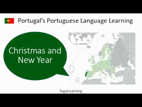 Christmas & New Year phrases in European Portuguese - YouTube
