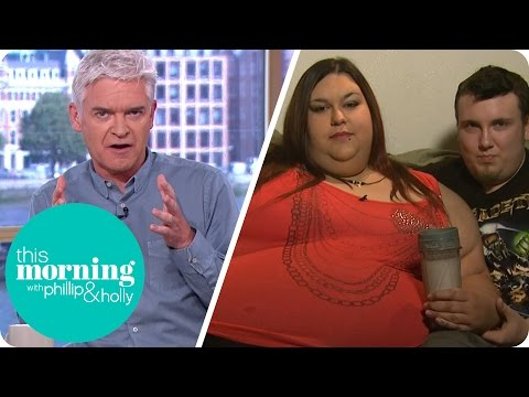 Aspiring Fattest Woman in the World Questioned by Holly and Phillip | This Morning