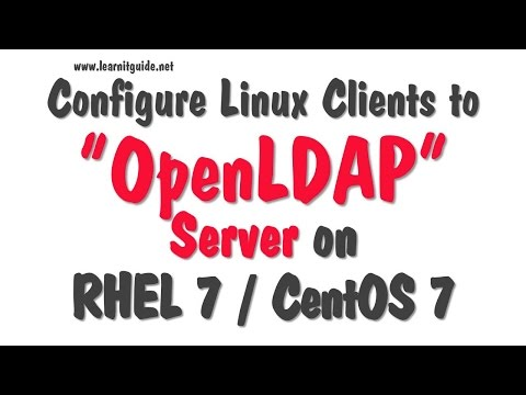 Configure Linux Clients for LDAP Authentication to OpenLDAP Server