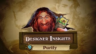 Designer Insights with Ben Brode: Purify thumbnail