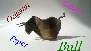 Origami Bull (Alexander Kurth) Tutorial