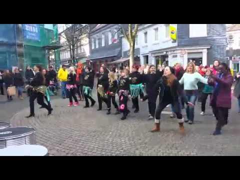 One Billion Rising 2015 in Schwelm