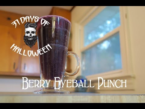 Tasty - Halloween Drinks - Berry Eyeball Punch - 8 of 31 Days of Halloween 2018 - DIY Halloween